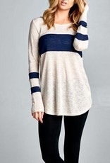 I'll Be Yours Tunic - Navy