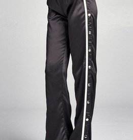 Start Of It Snap-On Pants - Black/Off-White