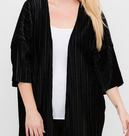 Wonder Seeker Cardigan- Black