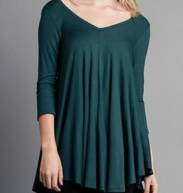 Bright Times Top- Teal