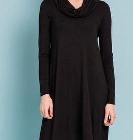 Sing Me A Song Swing Dress- Black