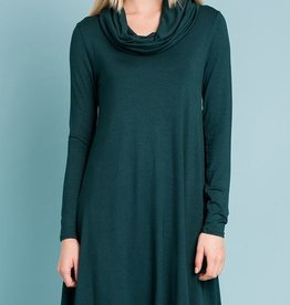 Sing Me A Song Swing Dress- Teal
