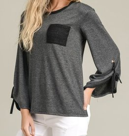 Weekend Ready Top - Charcoal
