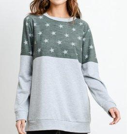 Star Struck Sweatshirt - Olive