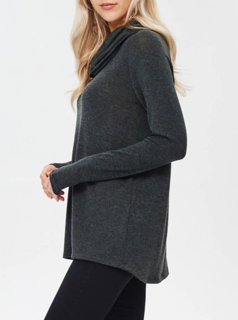 Chasing Down A Daydream Sweater - Charcoal