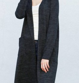 Fireside Chats Cardigan- Black