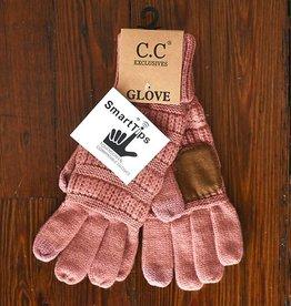 Knit Glove - Mauve