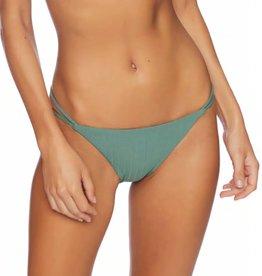 Unity Double Strap Pant Bikini Bottom- Olive