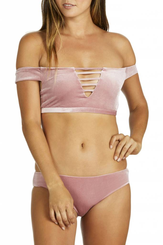 Hours Mandala Bra Bikini Top- Pink