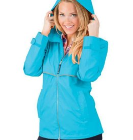 New Englander Rain Jacket - Wave