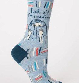 Fuck Off, I'm Reading Crew Socks