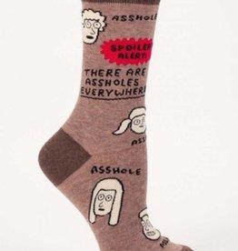 Assholes Everywhere Men's Crew Socks
