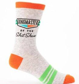 Ringmaster Shit Show Men's Crew Socks