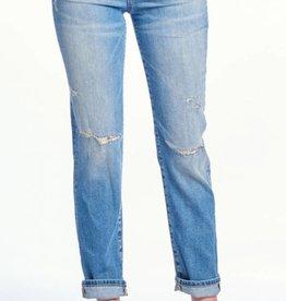 So Far Gone Boyfriend Jeans - Medium Light