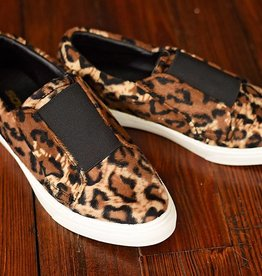 Savage Furry Slip-On Sneakers - Leopard