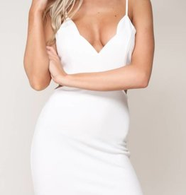 Side Piece Mini Dress - Ivory