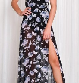 Mile High Maxi Dress - Black