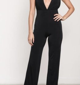Secret Society Jumpsuit - Black