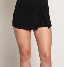 Exception To The Rules Skort - Black