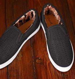 Rebecca Slip-On Sneaker - Black