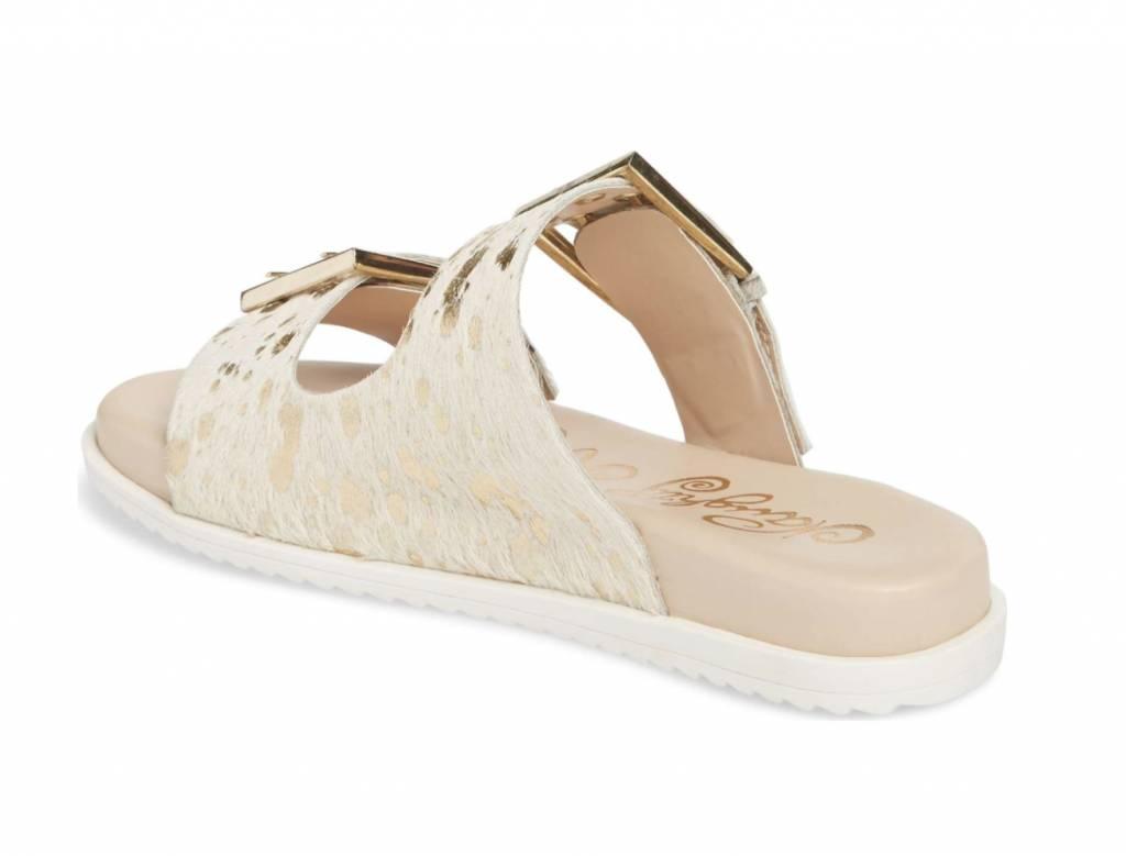 Hey Pony Sandal - White