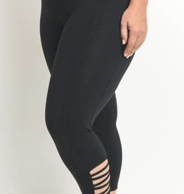 The Real Deal Active Leggings- Black