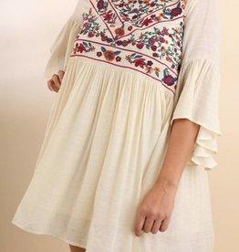 Boho Beginnings Dress - Natural