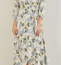 Floating In The Wind Maxi Dress - Natural