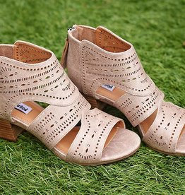 NOT RATED Taina Bootie- Beige