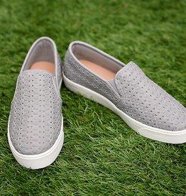 Morning Walk Slip On Sneakers - Grey