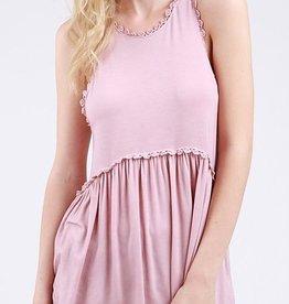 Hippie Girl Top - Pink