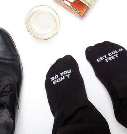 So Don't Get Cold Feet Socks