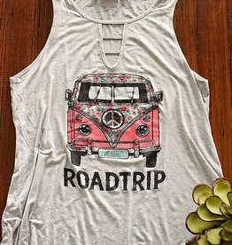 Roadtrip Tank - Heather Grey