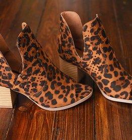 Wild Kaitlyn Bootie- Leopard
