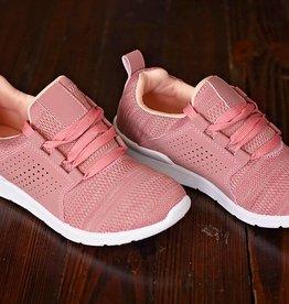 Walk This Way Sneaker- Mauve