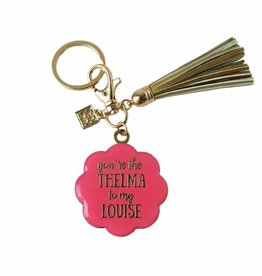Keychain With Tassel Thelma To My Louise