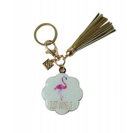 Keychain With Tassel Just Wing It