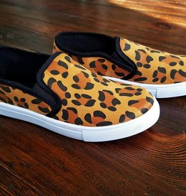 Jerri Slip On Sneakers - Leopard