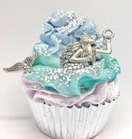 Large Mermaid Cupcake Bath Bomb