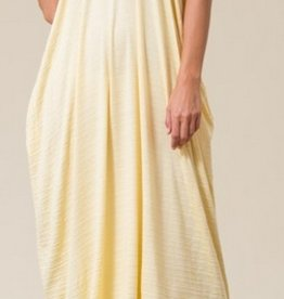 A Lively Love Maxi Dress - Light Yellow