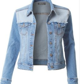 Riding Dirt Roads Jacket- Medium Denim