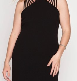 Fancy Fascination Dress - Black
