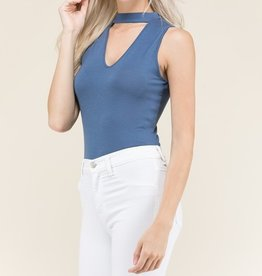Everyday Escape Bodysuit- Indigo