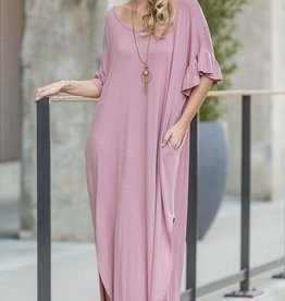 Reach For My Heart Maxi- Dusty Pink