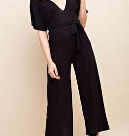 Everything Is Beautiful Jumpsuit- Black