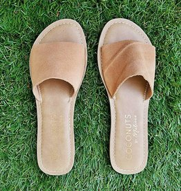Cabana Slide Sandal- Tan