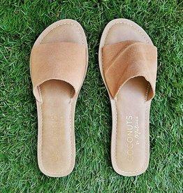 MATISSE Cabana Slide Sandal - Tan