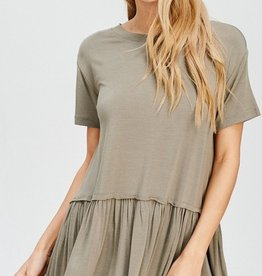 Finding Love Top - Olive
