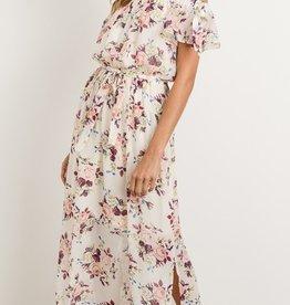 Midnight Romance Maxi Dress- Ivory