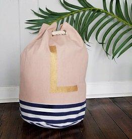 Initial Tote Bag- L